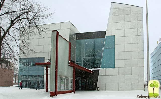 Музей современного искусства Киасма в Хельсинки, Финляндия - 4