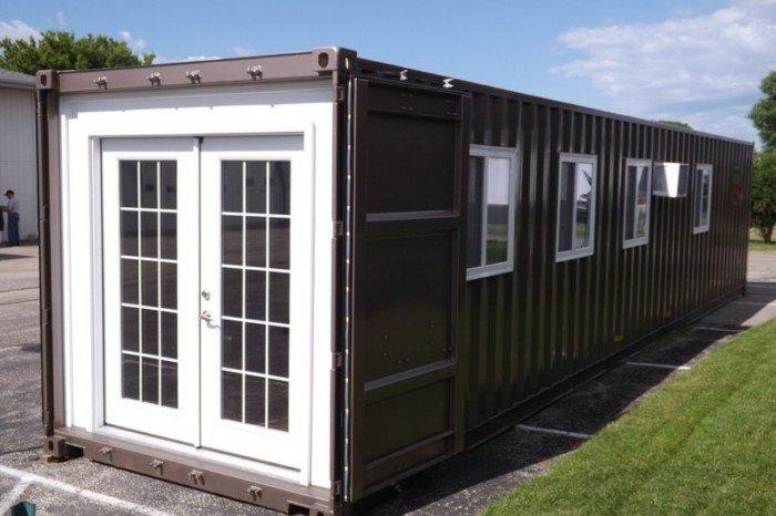 Теперь все могут купить крошечные дома из контейнеров на Amazon