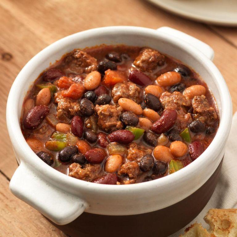 Суп с фасолью и говядиной: рецепт с фото