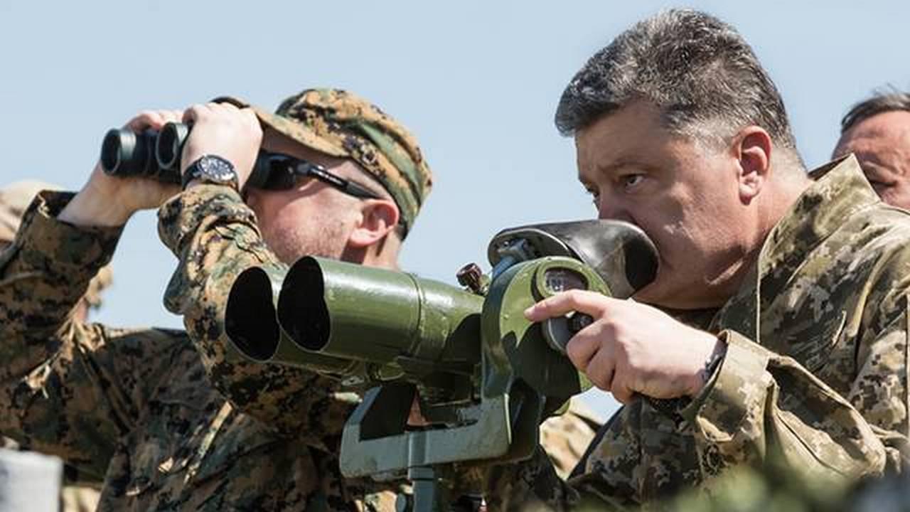 Украина: флота нет, а учения есть