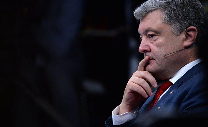 В США огласили приговор Порошенко
