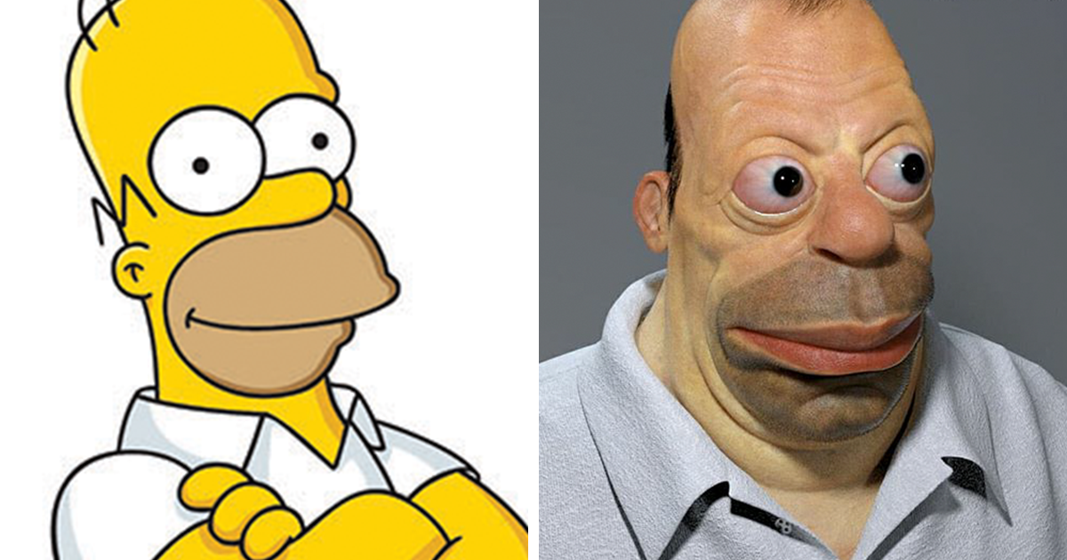 17 Realistic Cartoon Character Versions By Miguel Vasquez You Wouldn't Want To Meet In Real Life