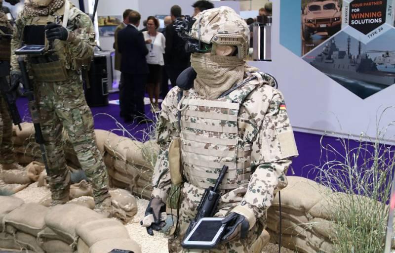 Современный солдат и его снаряжение