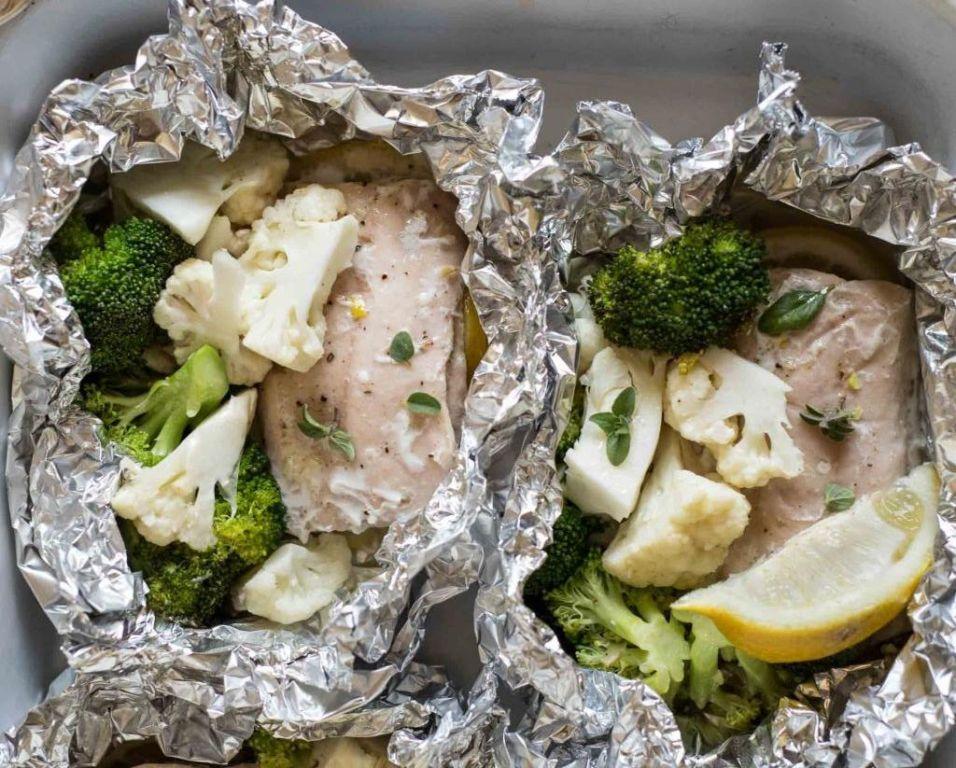 Простой рецепт для духовки: рыба с брокколи
