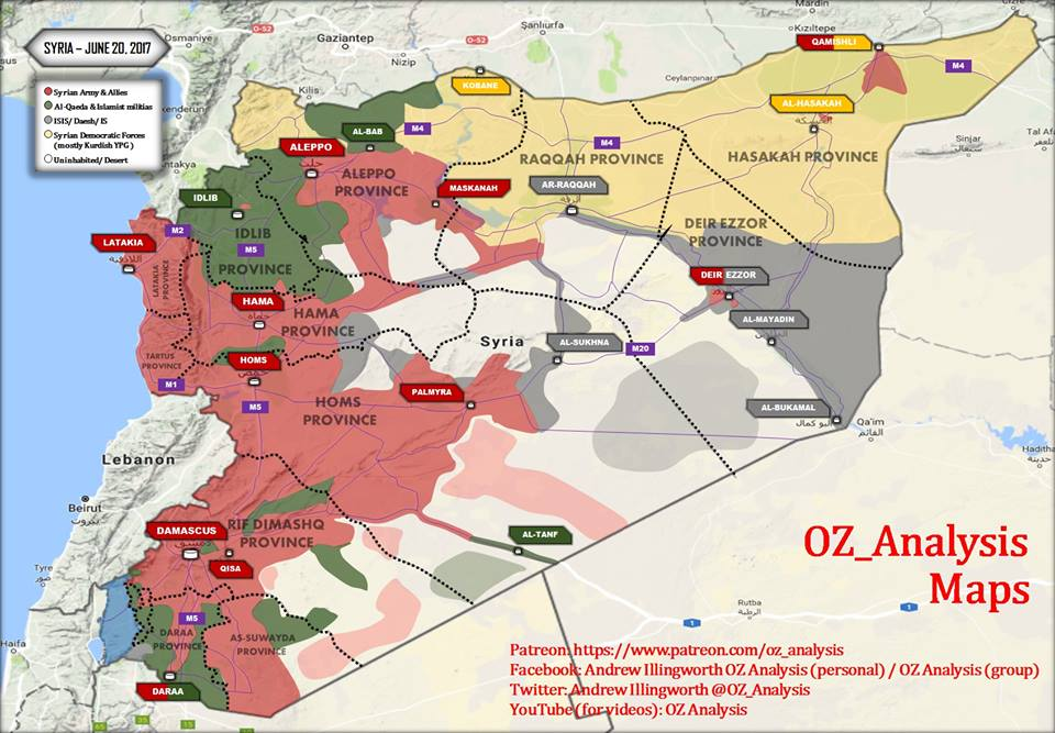 Пустыня завалена трупами и техникой ИГИЛ: «Тигры» и ВКС РФ освобождают 1400 км² и древний город Ресафу в Ракке (Видео)