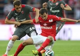 «Спартак» провел первый матч на новом стадионе