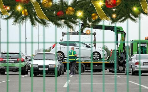 Праздник к нам приходит: московские штрафстоянки украсят к Новому году