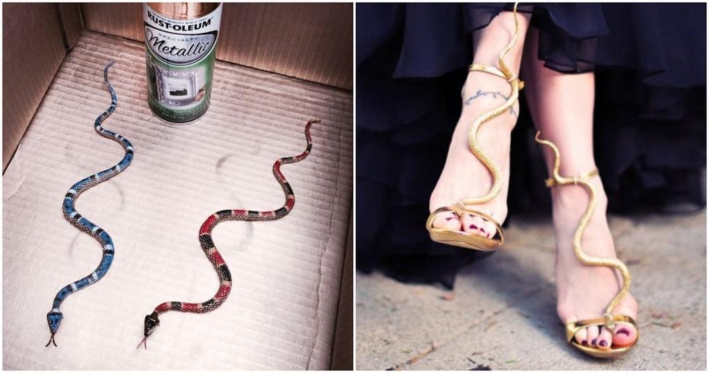 Обновляем босоножки: бюджетная идея для превращения обычной обуви в дизайнерскую