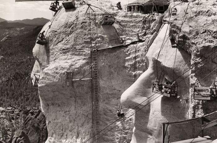 Работы на горе Рамшор, 1941 год.