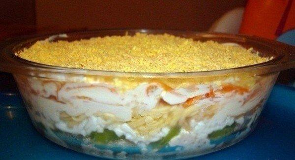 Неизбитый, вкусный салат. Все остались в восторге