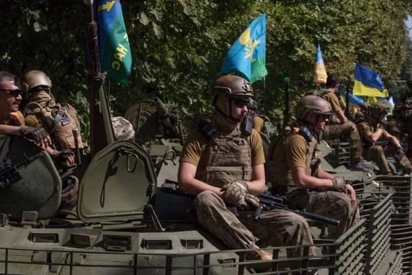 """ДНР: """"Свыше 1 тысячи украинских десантников решили покинуть ряды ВСУ"""""""