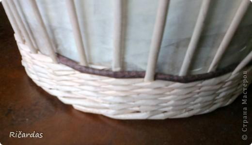 Плетение из газет. Овальные и круглые ХЛЕБНИЦЫ с крышками. Мастер-классы (6) (520x300, 105Kb)