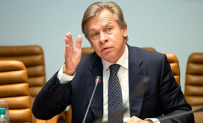Пушков потребовал ввести санкции против артистов, клевещущих на Россию