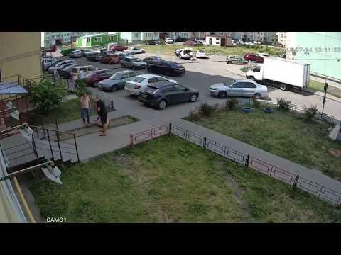 Жесткая ответка пьяному бузотеру в Воронеже