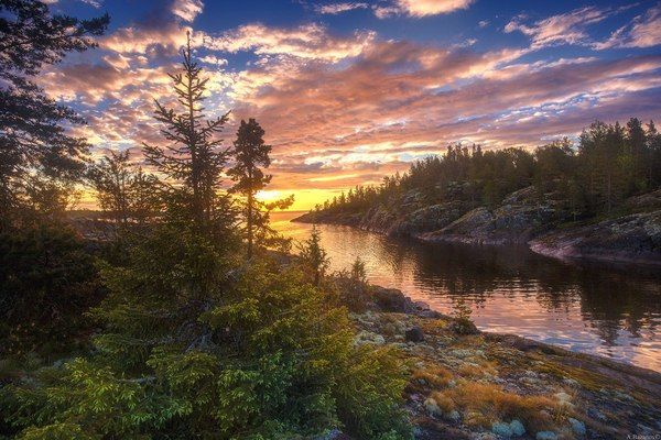 Нет прекраснее природы Ладожского озера!