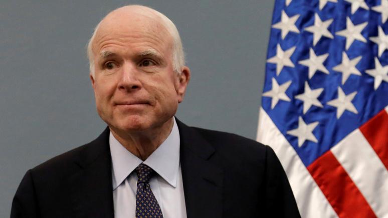 Guardian: у сенатора Маккейна диагностировали рак мозга