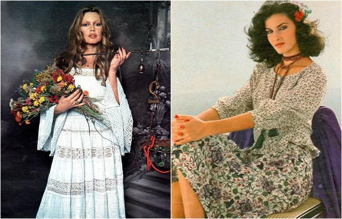 Ретро мода: 20 фотографий женщин с модными причёсками из 1970-х