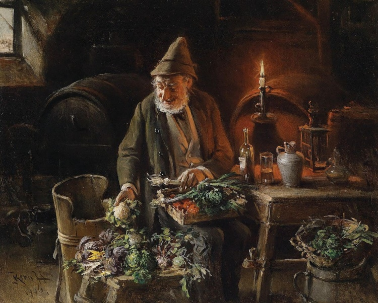Художник Hermann Armin von Kern (1838 – 1912). Истории старого дома