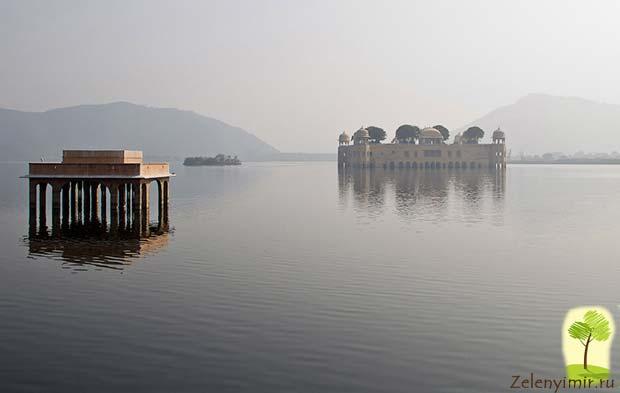 Джал-Махал - дворец на воде в Джайпур, Индия - 2