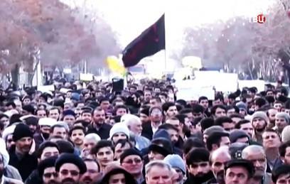 Число погибших в ходе протестов в Иране возросло до 20