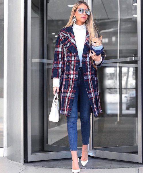 Как носить теплое пальто и выглядеть изящно