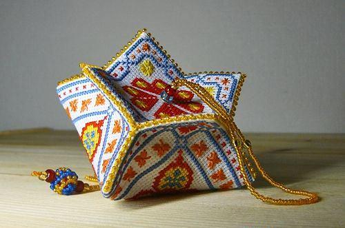 Как сшить милые подушечки бискорню