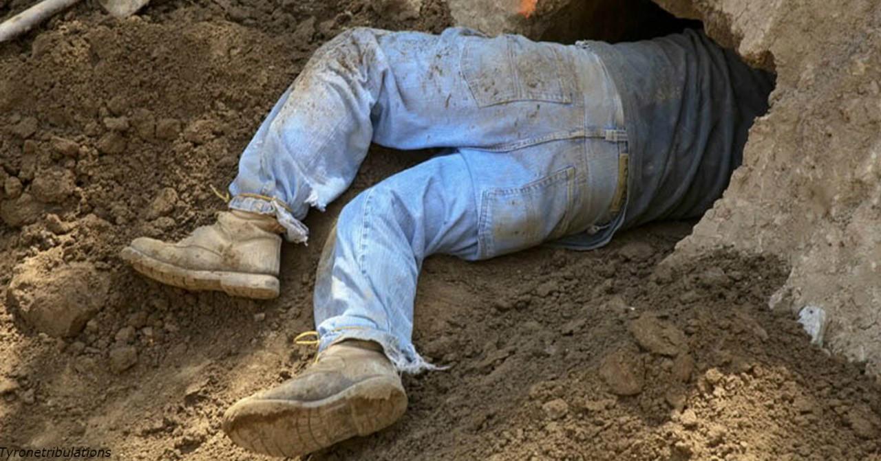 Мужик 15 лет рыл тоннель из спальни в бар - а потом ″выползал″ на пиво по ночам!