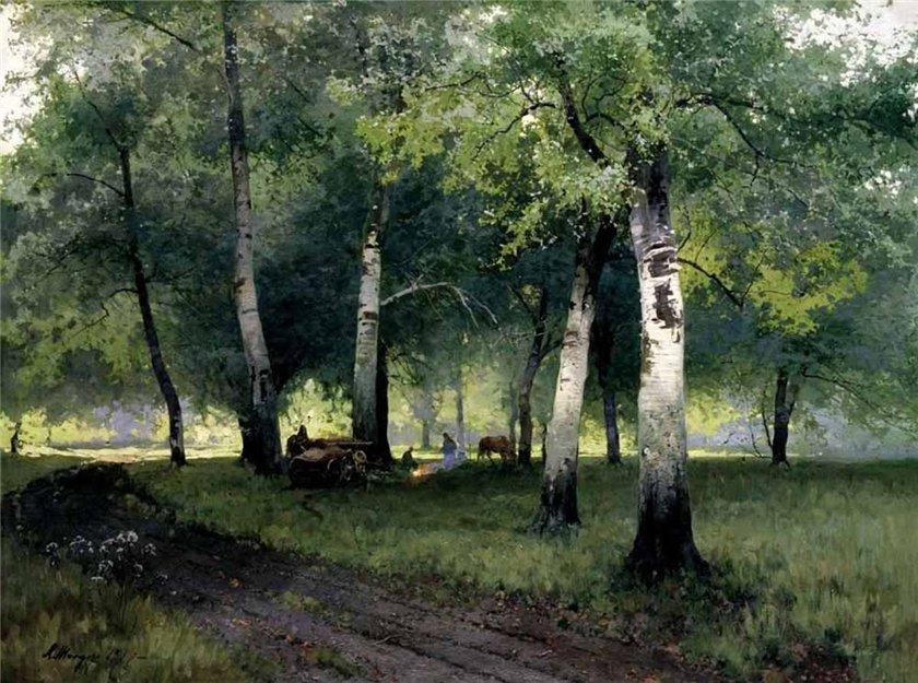«Как отрадно в лесу!…» Художник Андрей Шильдер (1861 – 1919)