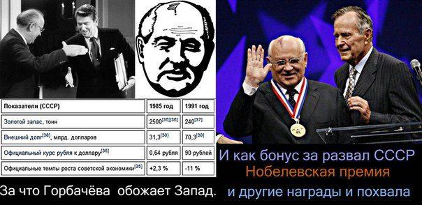Генеральный Ликвидатор СССР М.С. Горбачев»