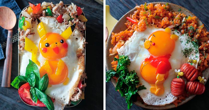Аппетитные и красивые блюда из яиц от многодетной японской мамы