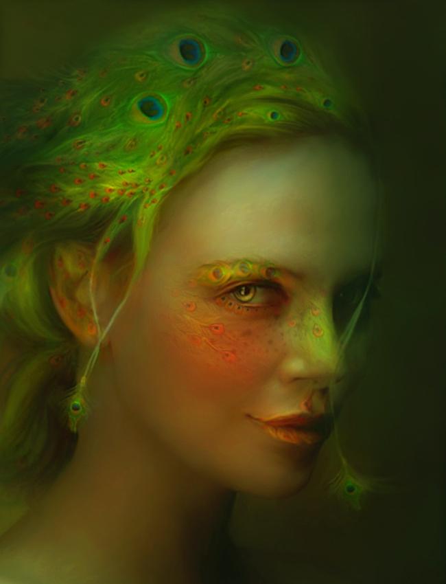 Женский образ в фантазиях современных художников