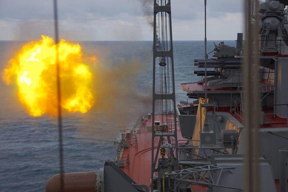 Ракеты Севфлота поразили цели в 400 километрах