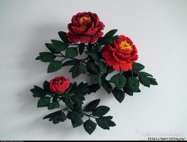 Цветы в технике китайского макраме (19) (604x458, 140Kb)