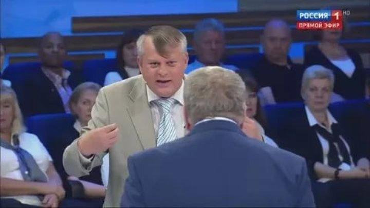 """""""Будем вас уничтожать"""": Жириновский устроил дебош в прямом эфире"""