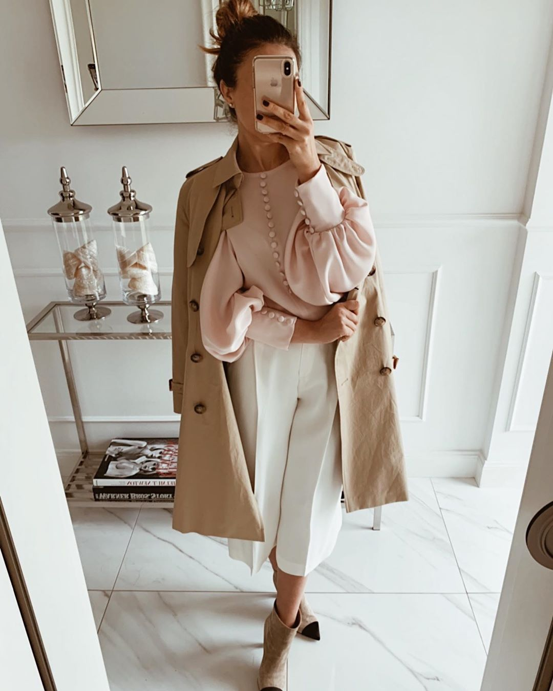 модные образы для деловых женщин осени 2019 фото 11