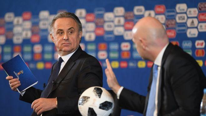 А что Мутко? Бывший министр спорта провел ЧМ вдали от чиновников ФИФА