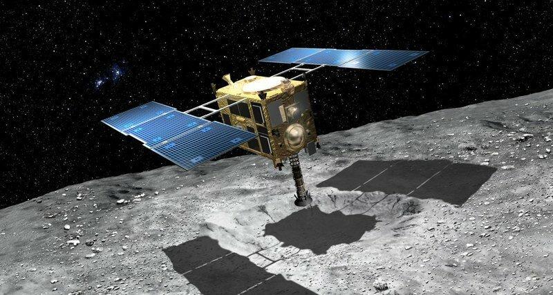 Как «Хаябуса-2» расстрелял астероид в упор: уникальные кадры Хаябуса-2, видео, космос, наука
