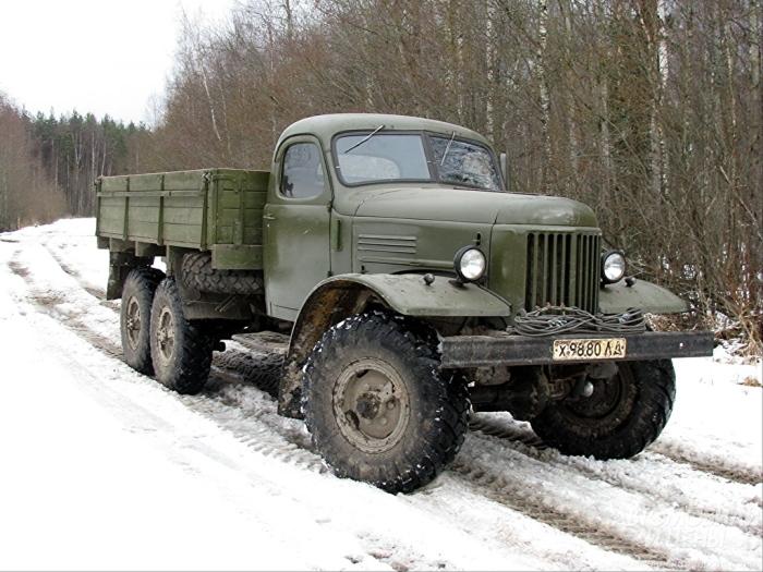 Первоклассный грузовик.
