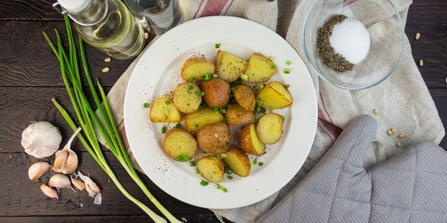 Картошка жареная с мясом