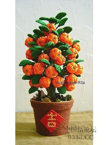 Цветы в технике китайского макраме (14) (375x500, 158Kb)