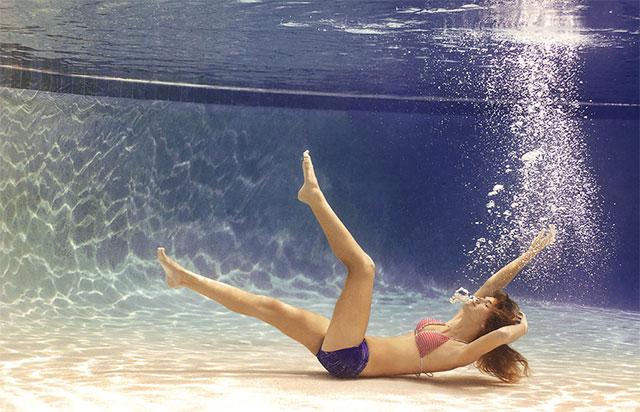Можно плавать и нырять в линзах
