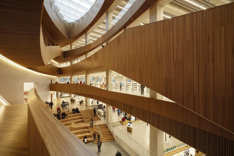 Архитектура и дизайн центральной библиотеки Калгари