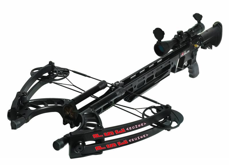 PSE Archery TAC (США). Штурмовой арбалет на базе винтовки