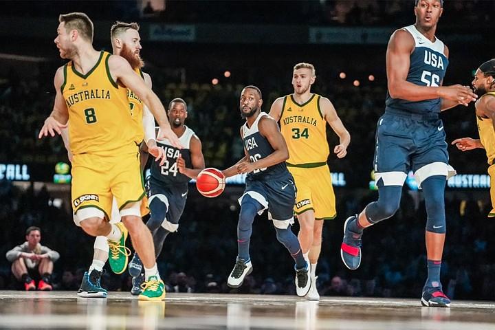 Баскетболисты сборной США проиграли впервые за 13 лет