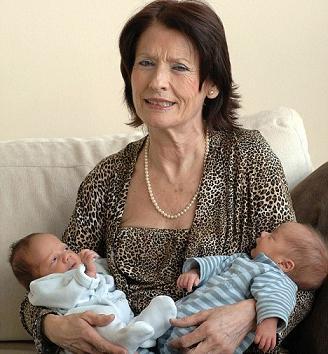 66-летняя пенсионерка стала мамой