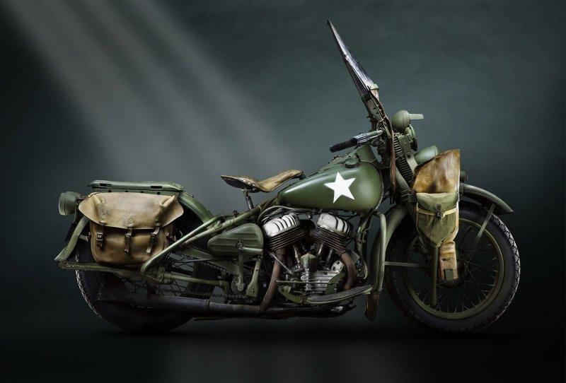Отличные снимки довоенных мотоциклов
