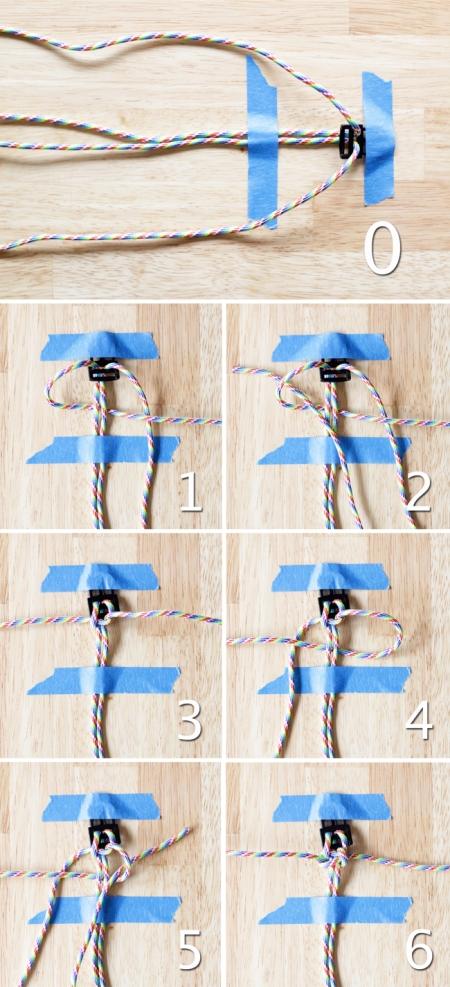 Как самой сделать шнурок