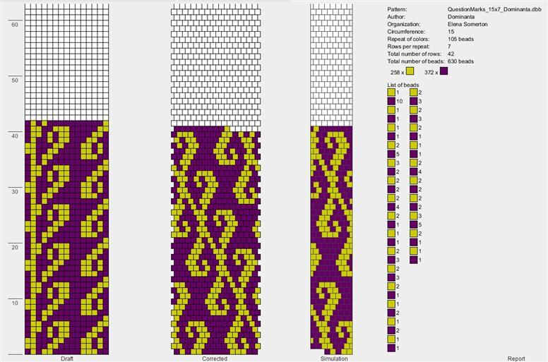 Бисероплетение жгут 15 бисерин схемы