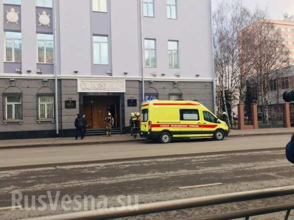 Обалдеть, на ФСБ напали