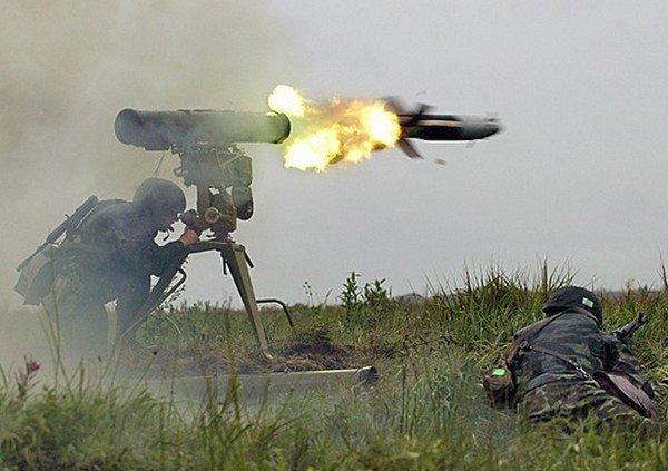 Выстрел из ПТРК «Корнет-Э»